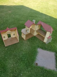 Calico critters houses