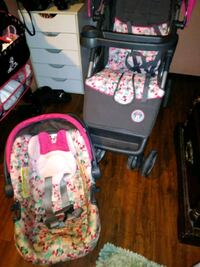 Pink Minnie mouse carseat and stroller Mesa, 85208