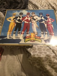 Mighty Morphin Power Rangers Framed Picture 1994 Saban Metairie, 70006