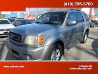 2001 Toyota Sequoia for sale Owings Mills