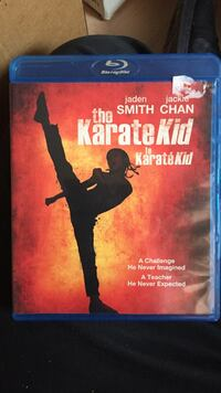 Blu-ray disc The Karate Kid DVD case Rocky View No. 44, T3R 1C7