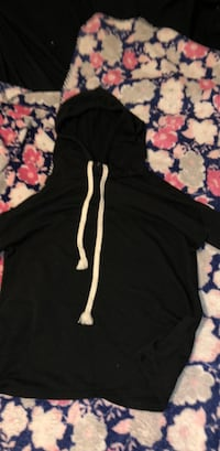 black and white pullover hoodie Inkster, 48141