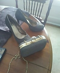 Heels with matching purse size 6 Utica, 13501