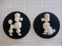 Wall Hangings of French Poodles Henderson, 89002
