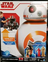 BB8 2in1 Mega Playset Forcelink New Star Wars Hagerstown, 21740