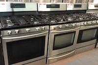 Samsung stainless steel gas stove 10% off Reisterstown, 21136