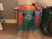Consuela brand large bag and small tote