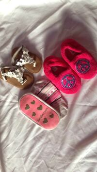 3 shoes/slippers  Johnstown