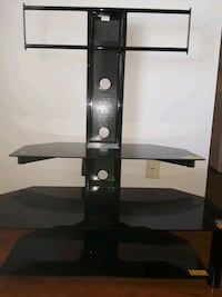 black glass-top TV stand Fort Collins, 80526