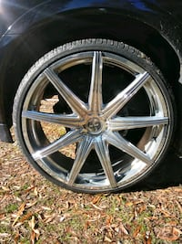 "28"" Chrome wheels and tires Columbia, 29212"