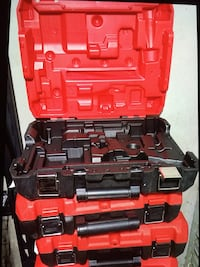 MIlWAUKEE New Case Hammer Drill,Charge,2 Batteries Not Include Tool , Only New Case $20 Each One Los Angeles, 91324