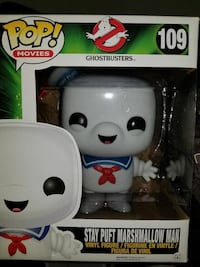 POP! Movies Ghostbusters 109 Stay Puft Marshmallow Man vinyl figure box Cambridge, N1R 1G7