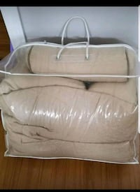 Brand new Queen size 7 peices comforter set