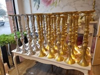 Silver and gold wedding centerpieces for sale  Vaughan