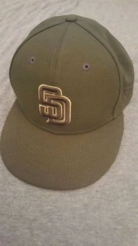 NEW San Diego Snapback Hat. Olive Green. Spring Valley, 91977