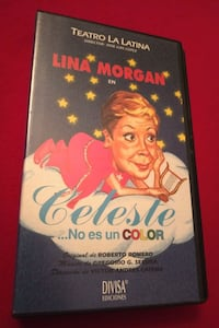 VHS Celeste no es un color (Lina Morgan)