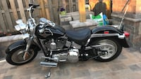 Black and gray touring motorcycle Chicago, 60652