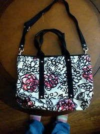 black and white floral Coach tote bag  Knoxville, 37920