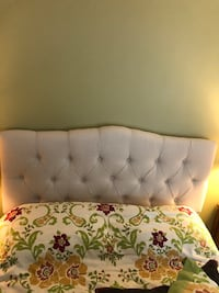 Upholstered solid wood headboard North Potomac, 20878