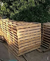 Used wood pallets for sale for sale in los angeles for Used lumber los angeles