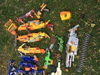 lot of assorted nerf blasters (200$ or best offer) Toronto, M1G 1N4