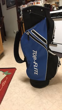 black and blue golf bag Leander, 78641