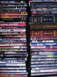 DVD case lot sets extra 3.00 and 5.00 St. Catharines, L2R 3W8