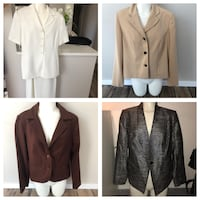 4 ITEM CLOTHING LOT BLAZER BUSINESS LOT Winnipeg, R2R