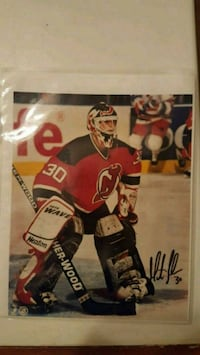 Martin Brodeur Authentic Signed Photo  Laval, H7W 4C6