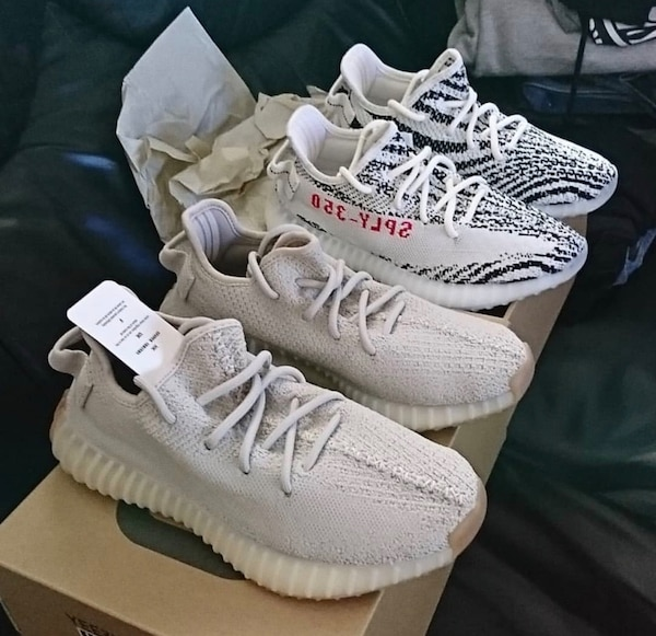 2e9a48aa565 Brukt Yeezy Sesame. Brand New from Footlocker. Recipe provided til ...