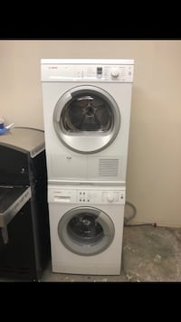 white front-load washer and dryer set Charlotte, 28206