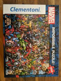 Marvel 1000 Piece Jigsaw Puzzle Vancouver, V5N 4C7
