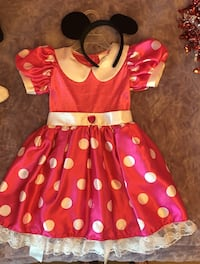 Minnie Mouse costume size 4 - 6 Calgary, T3K 0M6