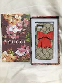 Cover Gucci iPhone 7  Roma, 00187