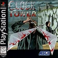 Cock Tower rare playstation ps1 horror Decatur, 30032