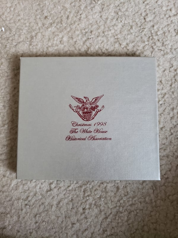 1998 Collectible White House Ornament 218b3f3c-c1a0-4bc5-8370-4c3010bced75