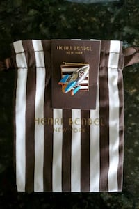 Henri Bendel Pin and Scarf Accessory