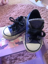 Like New! Purple Toddler Chucks Bermuda Dunes, 92203