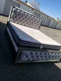 King size bed, frame and base all for $550 Las Vegas, 89142