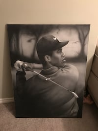 Tigerr Woods canvas hanging picture