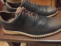 Brand new, never worn pair of cole haan grand2.0 brown leather shoes
