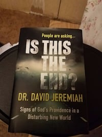 Is this the end. by David Jeremiah hardcover