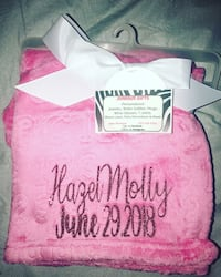 Personalized baby blankets  Vallejo, 94591