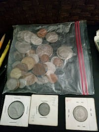 round silver-colored and gold-colored coin lot West Point, 84015
