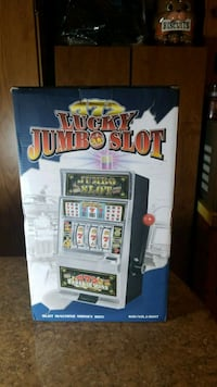 New in Box lucky jumbo slot machine Johnstown, 12095