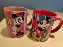 Mickey & Minnie mugs