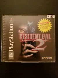 Resident Evil 2 for PS1 Vaughan, L4L