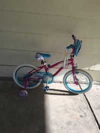 Toddler's pink and blue bicycle Lafayette, 70503