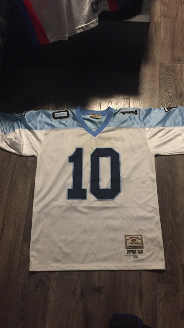4768113c Player of the century Vince Young jersey!!