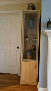 glass door cabinet Germantown, 20874